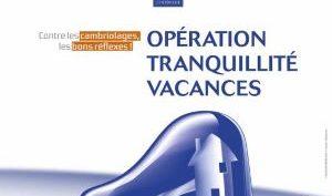 Opération tranquilité vacances 2020